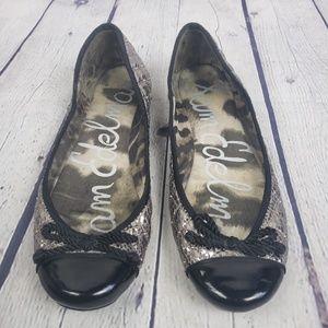 Sam Edelman Silver Metallic Flat shoes